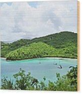 Maho Bay, St. John Wood Print