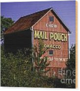Mail Pouch Barn-0702 Wood Print
