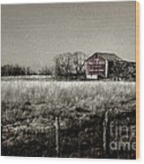 Mail Pouch Barn 89zz Wood Print