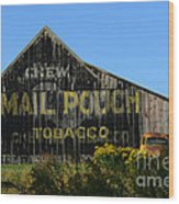 Mail Pouch Barn Wood Print