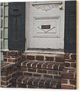 Mail Slot Wood Print