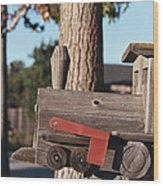 Mail Stop Wood Print