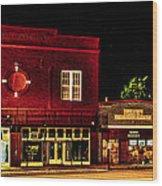 Main Street East Bernard Wood Print