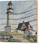 Maine 1820-1970 Wood Print