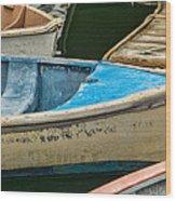 Maine Rowboats Wood Print