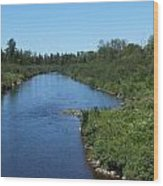 Maine Waters Wood Print