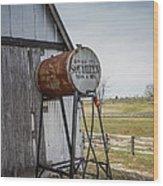 Barn - Maintenance Wood Print