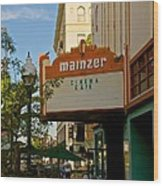 Mainzer Theater Wood Print