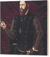 Ma�ip, Vicente 1480-1550. Portrait Wood Print