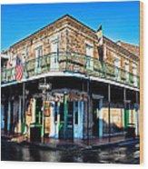 Maison Bourbon - New Orleans Wood Print