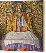 Maitreya Buddha Erdene Zuu Monastery Wood Print