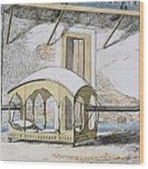 Majanah, Or Covered Reclining Wood Print