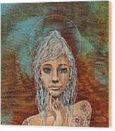 Majestic Girl #1 Wood Print