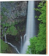 Majestic Kegon Falls Wood Print
