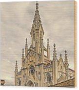 Ubate Cathedral Wood Print