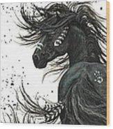 Majestic Spirit Horse I Wood Print