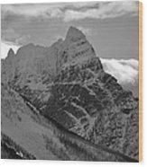 Majestic Peaks Wood Print