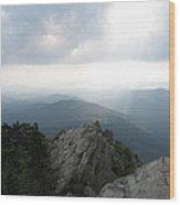 Majestic Rock Wood Print