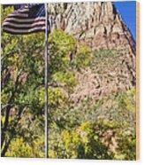 Majestic Sight - Zion National Park Wood Print