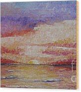 Majestic Sunset  Wood Print