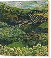 Majestic Valley Wood Print
