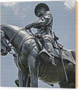 Major-general Oliver Howard  Wood Print