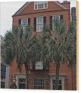 Major Peter Bocquet House Charleston South Carolina Wood Print