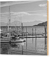 Makah Tribal Trawlers  Wood Print