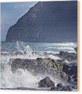 Makapuu Point Lighthouse- Oahu Hawaii V3 Wood Print