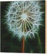 Make A Wish Wood Print