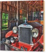 Maker's Mark Firehouse 2 Wood Print by Mel Steinhauer