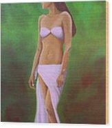 Mala Wahine Wood Print