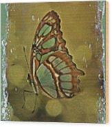 Malachite - Flying Jewel Wood Print