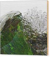 Malachite Water Wood Print