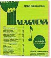 Malaguena Wood Print