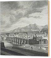 Malaspina Expedition. Philipines 1792 Wood Print