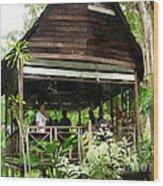 Malay Hut Wood Print