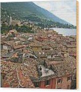 Malcesine Lake Garda Wood Print