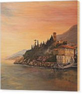 Malcesine Lake Garda Italy Wood Print