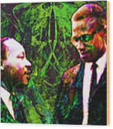 Malcolm And The King 20140205p68 Wood Print