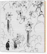 Malcolm W. Dunlap Wood Print
