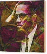 Malcolm X 20140105 Wood Print