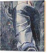 Male Figure Wood Print