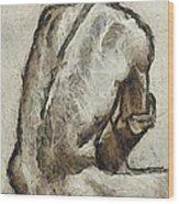 Male Torzo Wood Print