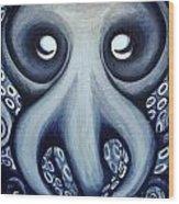Malekei The Octopi Wood Print