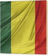 Mali Flag Wood Print
