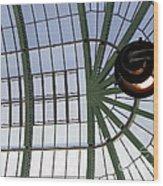 Mall Of Emirates Skylight Wood Print