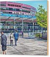 Malmo Arena 05 Wood Print