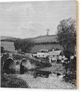 Malmsmead Bridge, C1900 Wood Print