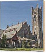 Malone Church Wood Print